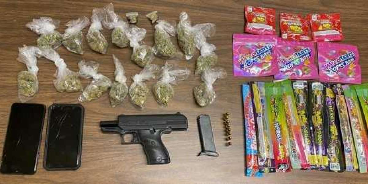 Man Found With Marijuana Edibles and Illegal Handgun While Speeding