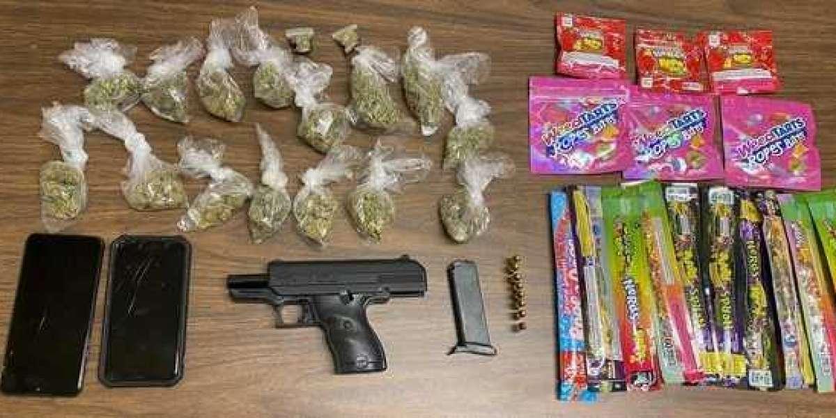 Man Found With Marijuana Edibles and Illegal Handgun While Speeding